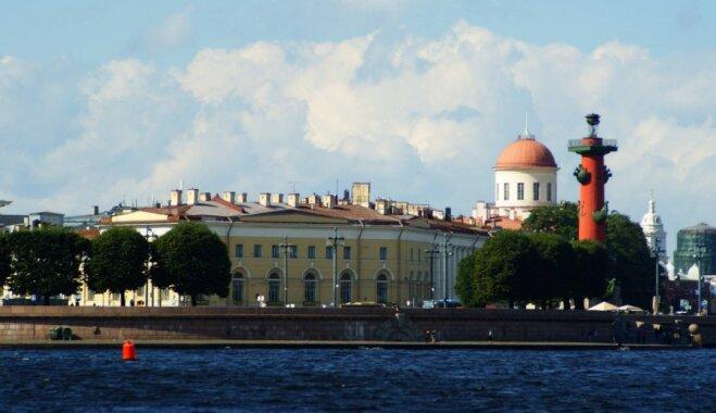 Ceļojums uz Sanktpēterburgu
