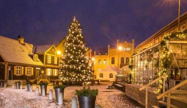 ФОТО: На Рождество Кулдига стала сказкой гномов
