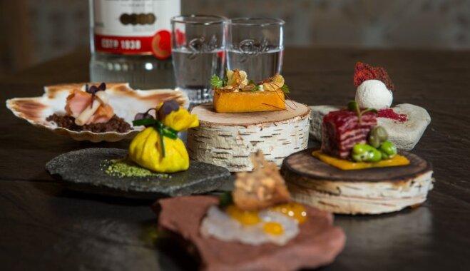 Mūsdienīgas garšas ar klasisku dzērienu – sešas uzkodas degvīna baudīšanai