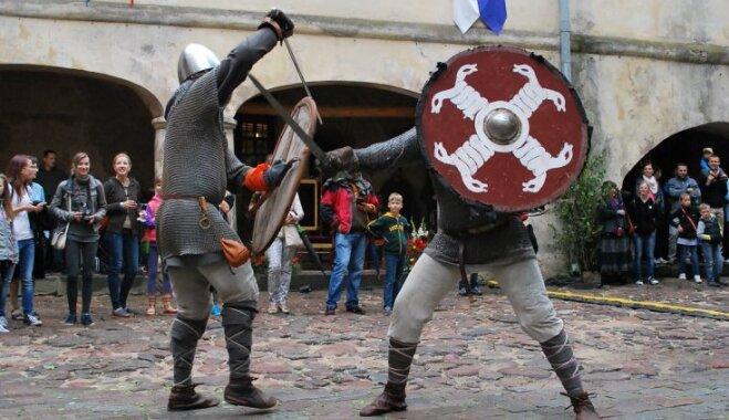 В Яунпилсском замке пройдет средневековый праздник