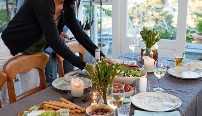 Veiklas kārtošanas un skaistu noformējumu padomi: kā sagatavot mājokli viesu uzņemšanai