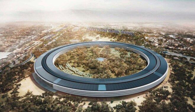 """НЛО, """"Пентагон"""", """"Бублик"""". Что надо знать про Apple Park — """"самый лучший в мире офис"""""""