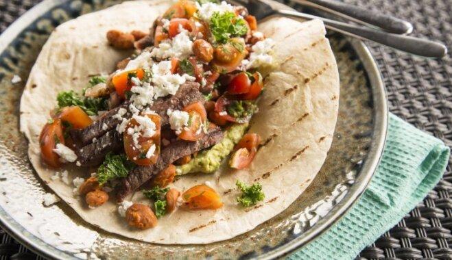 Garda maltīte uz ātru roku – pildītas tortiljas: padomi, kā savīstīt pašas gardākās