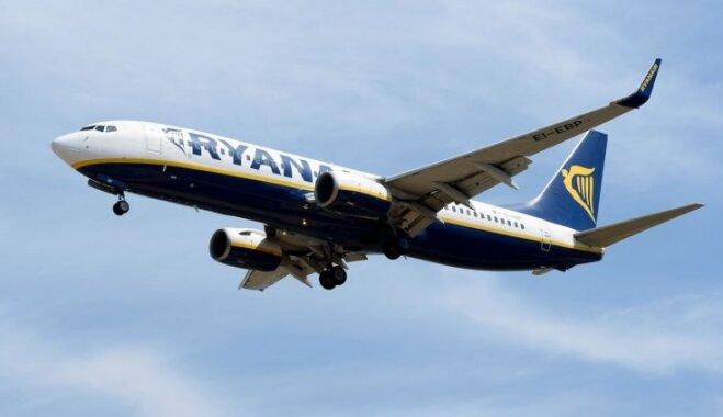 'Ryanair' uzsāk jaunu tiešo lidojumu maršrutu no Rīgas uz Edinburgu