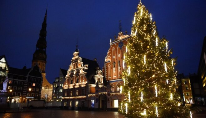 Rīgas Ziemassvētku egļu ceļš iekļuvis Japānas tūristu ceļvedī