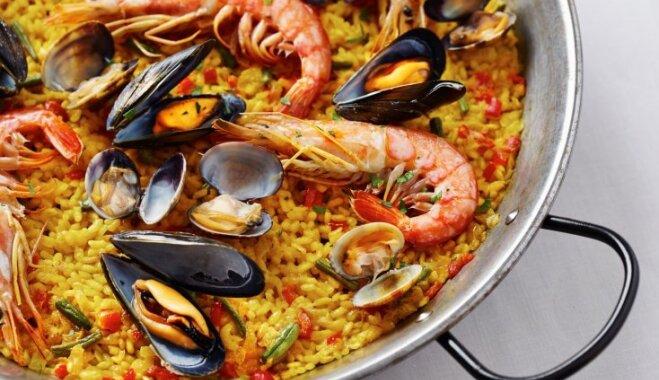 Плов по-испански - паэлья: из чего готовить и как есть