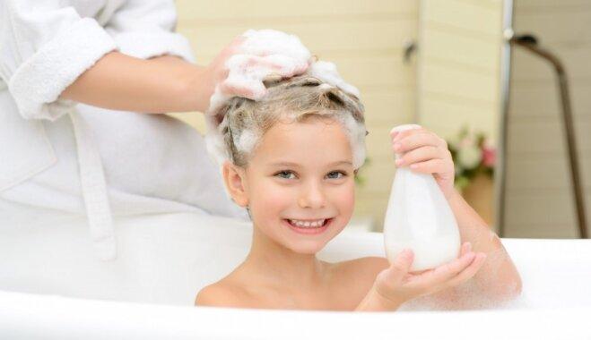 Dermatologi: bērniem vecumā no sešiem līdz 11 gadiem ir kaitīgi katru dienu iet dušā