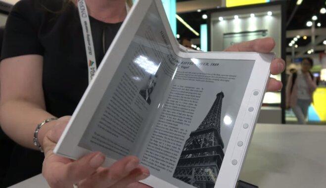 Компания E Ink показала гибкий дисплей на электронных чернилах