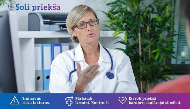 Sirds un asinsvadu saslimstība: Latvijā vieni no sliktākajiem rādītājiem ES