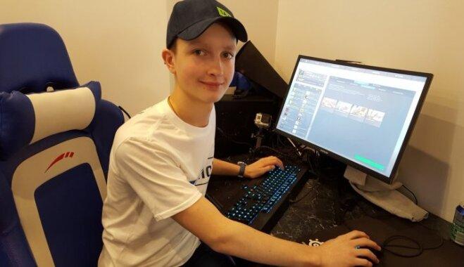 Nevis aizliegt, bet atbalstīt un limitēt: producents Edgars Zveja kopā ar dēlu startē datorspēles sacensībās
