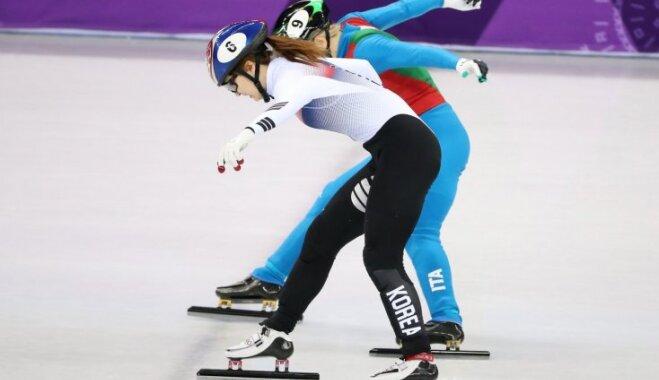 XXIII Ziemas olimpisko spēļu rezultāti šorttrekā sievietēm 500 m distancē (13.02.2018.)