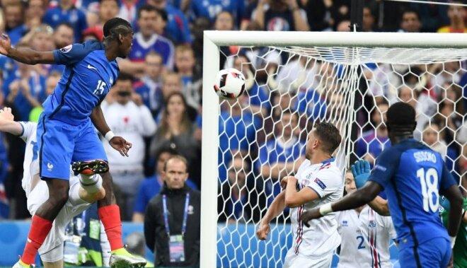 Сборная Франции в четвертьфинале ЕВРО-2016 забила Исландии пять голов
