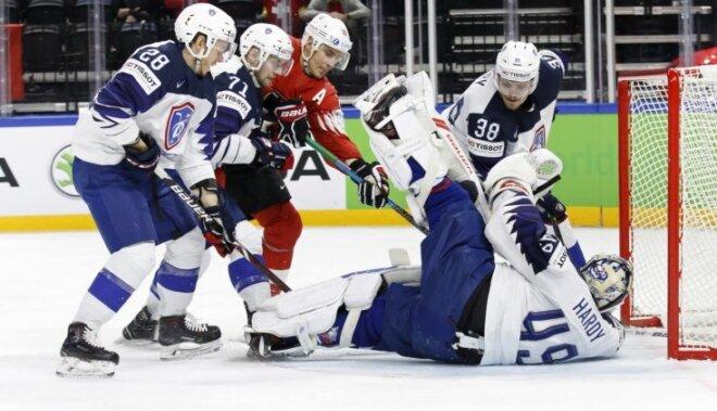 ВИДЕО: На чемпионате мира по хоккею определились первые две пары 1/4 финала