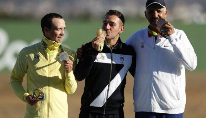 Itālis Roseti uzvar šaušanā apaļajā stendā; publikas mīlestība tiek neatkarīgajam sportistam Alrašidi