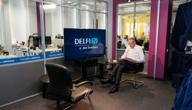 """""""DELFI TV с Янисом Домбурсом"""": что посмотреть на этой неделе?"""