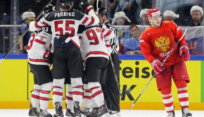 Сборная России проиграла Канаде и впервые за пять лет осталась без медалей