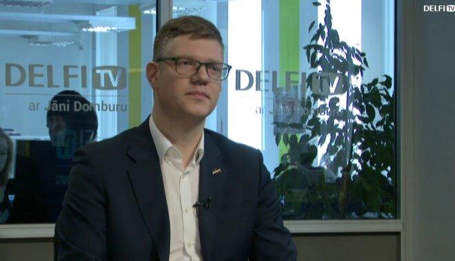 ВИДЕО. Интервью на Delfi TV: Янис Домбурс vs Вилнис Кирсис