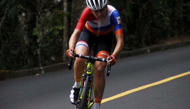 Велогонщица изНидерландов получила тройной перелом позвоночника наОлимпиаде