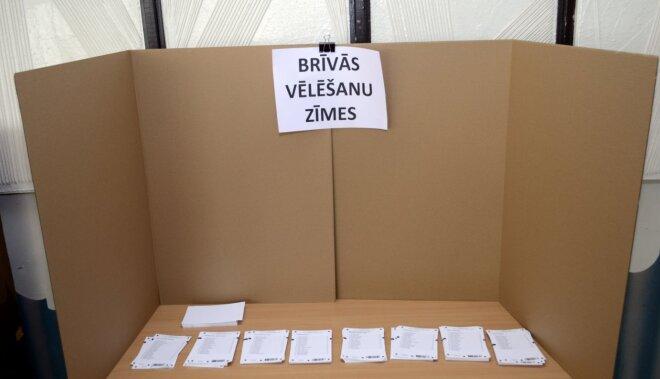 Iepriekšējās balsošanas dienās pašvaldību vēlēšanās kopumā piedalījušies 12,31% balsstiesīgo