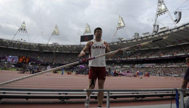 Kārtslēcējs Ārents: pēdējie rezultāti dod nelielu pārliecību pirms starta Rio