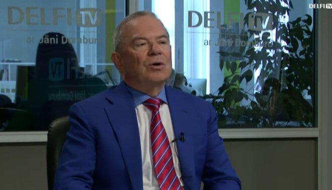 ВИДЕО. Интервью на Delfi TV: Янис Домбурс vs Айвар Лембергс