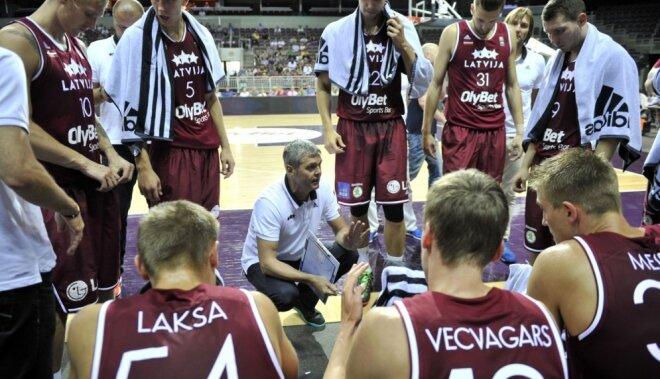 Назван состав сборной Латвии на домашний Евробаскет
