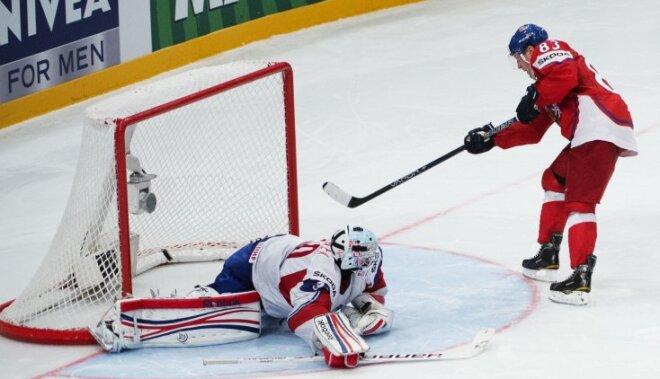 Čehija tikai pēcspēles 'bullīšos' apspēlē Norvēģiju