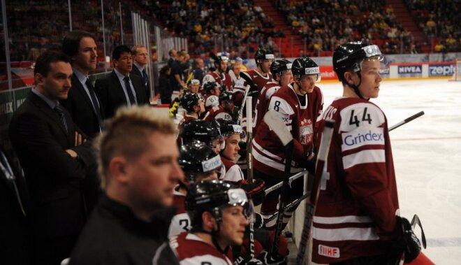 Latvijas hokeja izlase Rīgā atgriezīsies trešdienas vakarā