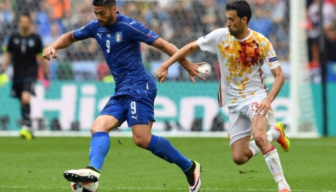 Италия берет реванш и заставляет сложить Испанию чемпионские полномочия