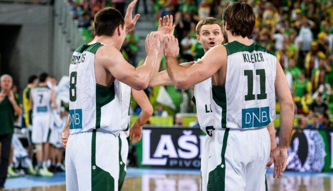 Lietuva pārliecinoši pārspēj Horvātiju un piekto reizi spēlēs EČ finālā