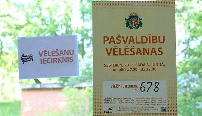 К 12:00 проголосовали 27% избирателей: самая низкая активность— в Земгале