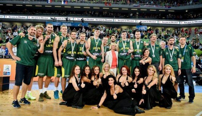 Sudrabs ir izcils sasniegums, tikai to novērtēs pēc laika, uzskata Lietuvas treneris Kazlausks