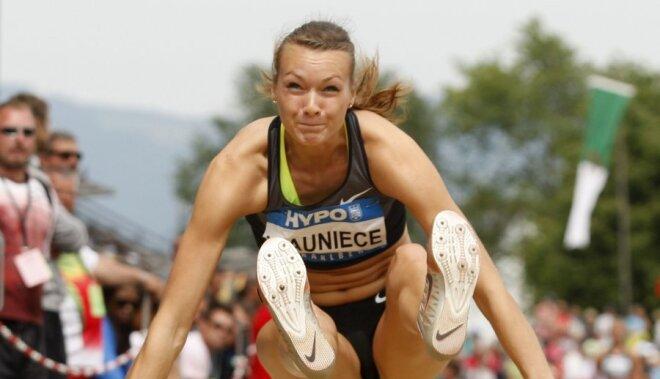 Septiņcīņniece Ikauniece sasniedz Londonas olimpisko spēļu A normatīvu