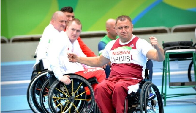 Apinim par paralimpisko zeltu pienākas līdz 142 tūkstošiem eiro naudas balva