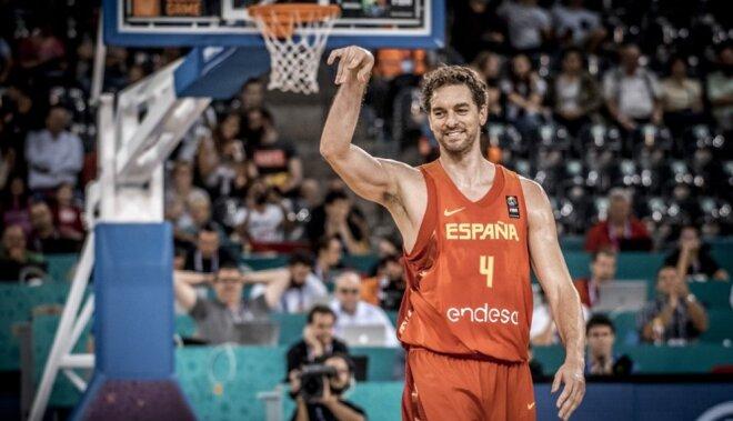 Pau Gasols kļūst par 'Eurobasket' rekordistu