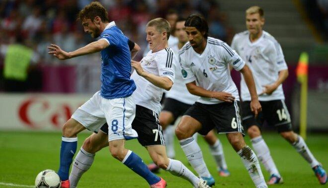 В самом звездном четвертьфинале ЕВРО-2016 сыграют Германия и Италия