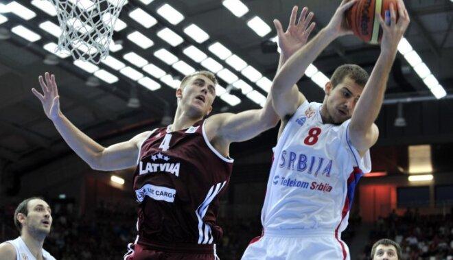 Latvijas basketbola izlase ar Porziņģi metas iekšā 'Eurobasket 2017' karuselī