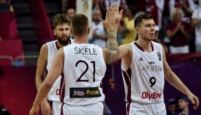 Черногория разгромлена! Сборная Латвии вышла в четвертьфинал Евробаскета