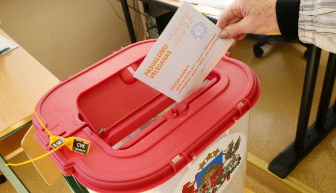 В Видземе на выборах выявлен один случай подкупа избирателей