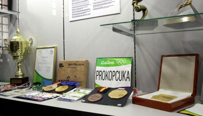 Foto: Latvijas Sporta muzejā atvērta olimpiskā izstāde 'Rio 2016'