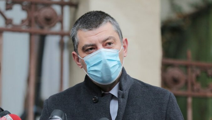 Pēc atļaujas opozīcijas līdera aizturēšanai atkāpjas Gruzijas premjers