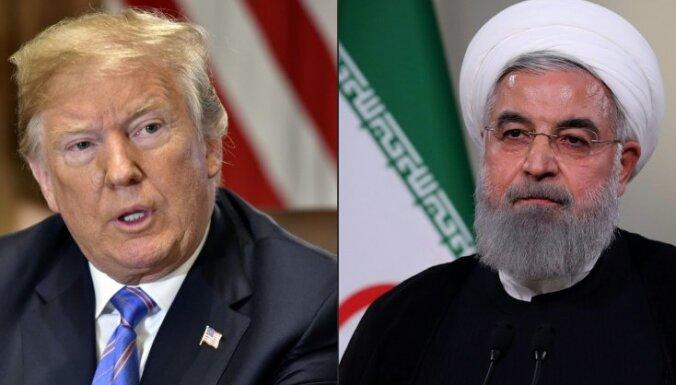 ASV pilnībā atjauno sankcijas Irānai