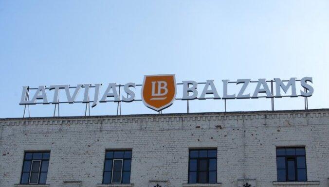 'Latvijas Balzama' peļņa pērn pieaugusi par 24%