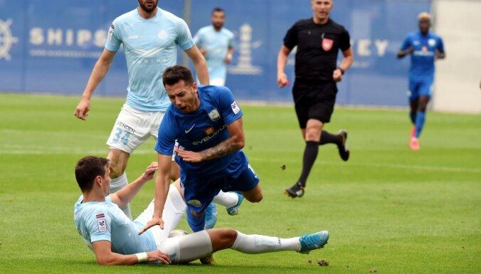 Čempionvienība 'Riga' otrajā puslaikā sasparojas un uzvar 'Daugavpili'