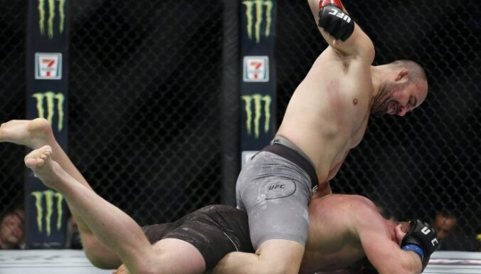 Video: Cirkunovs jau pirmajā raundā zaudē UFC turnīrā