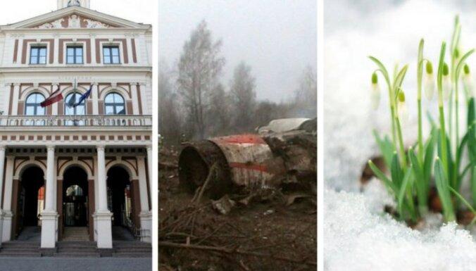 10 апреля. Чем Брока лучше Ушакова, новые данные о крушении самолета Качиньского, снежные выходные