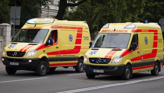 При падении в автобусе пострадала пассажирка: полиция ищет свидетелей