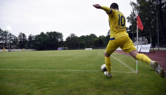 Заболевший Covid-19 Индриксонс посещал футбольный матч в Валмиере