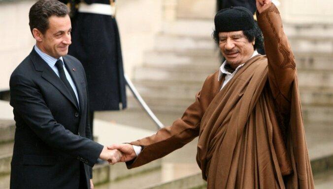 "Саркози предъявлено обвинение по статье ""Торговля влиянием"""