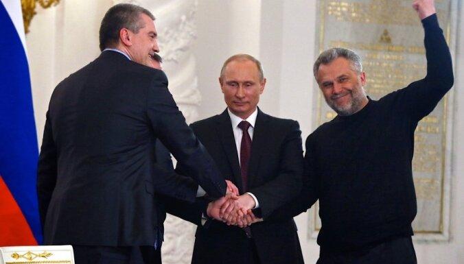 Krima uzņemta Krievijas sastāvā